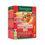 Santarome Bio Programme Ultra Tonique Solution Buvable 30 Ampoules/10ml à AURILLAC