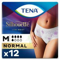 Tena Lady Silhouette Slip Absorbant Blanc Normal Médium Paquet/12 à AURILLAC