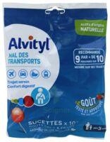 Alvityl Sucette Mal Des Transports Cola Fraise Sachet/10 à AURILLAC