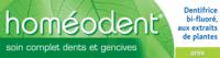 Boiron Homéodent Soin Complet Dents Et Gencives Pâte Dentifrice Anis T/75ml à AURILLAC