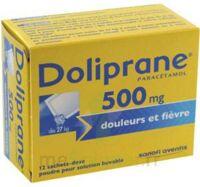 Doliprane 500 Mg Poudre Pour Solution Buvable En Sachet-dose B/12 à AURILLAC