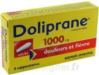 Doliprane 1000 Mg Suppositoires Adulte 2plq/4 (8) à AURILLAC