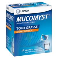 Mucomyst 200 Mg Poudre Pour Solution Buvable En Sachet B/18 à AURILLAC
