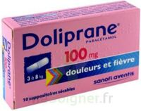 Doliprane 100 Mg Suppositoires Sécables 2plq/5 (10) à AURILLAC