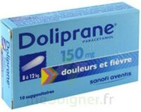 Doliprane 150 Mg Suppositoires 2plq/5 (10) à AURILLAC