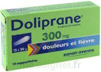 Doliprane 300 Mg Suppositoires 2plq/5 (10) à AURILLAC