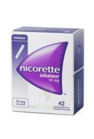 Nicorette Inhaleur 10 Mg Cartouche P Inh Bucc Inhalation Buccale B/42 à AURILLAC