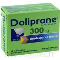 Doliprane 300 Mg Poudre Pour Solution Buvable En Sachet-dose B/12 à AURILLAC