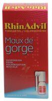 Rhinadvil Maux De Gorge Tixocortol/chlorhexidine, Suspension Pour Pulvérisation Buccale à AURILLAC