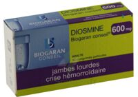 Diosmine Biogaran Conseil 600 Mg, Comprimé Pelliculé à AURILLAC
