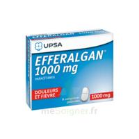 Efferalgan 1000 Mg Comprimés Pelliculés Plq/8 à AURILLAC