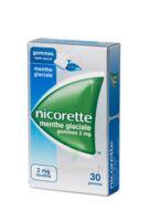 Nicorette 2 Mg Gom à Mâcher Médic Sans Sucre Menthe Glaciale Plq/30gom à AURILLAC