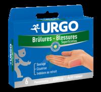 Urgo Brulures-blessures Petit Format X 6 à AURILLAC