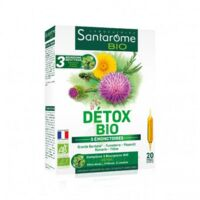 Santarome Bio Détox Solution Buvable 20 Ampoules/10ml