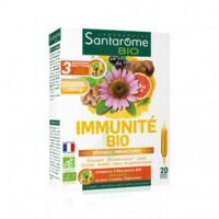 Santarome Bio Immunité Solution buvable 20 Ampoules/10ml