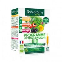 Santarome Bio Programme Ultra Minceur Solution Buvable 30 Ampoules/10ml à AURILLAC