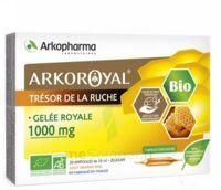 Arkoroyal Gelée Royale Bio 1000 Mg Solution Buvable 20 Ampoules/10ml à AURILLAC