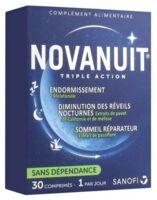 Novanuit Triple Action Comprimés B/30 à AURILLAC
