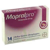 Mopralpro 20 Mg Cpr Gastro-rés Film/14 à AURILLAC