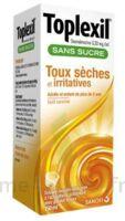 Toplexil 0,33 Mg/ml Sans Sucre Solution Buvable 150ml à AURILLAC