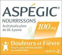 Aspegic Nourrissons 100 Mg, Poudre Pour Solution Buvable En Sachet-dose à AURILLAC