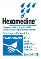 Hexomedine Transcutanee 1,5 Pour Mille, Solution Pour Application Locale à AURILLAC