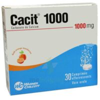 Cacit 1000 Mg, Comprimé Effervescent à AURILLAC