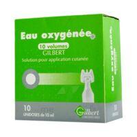 Eau Oxygenee 10 Volumes Gilbert, Solution Pour Application Cutanée En Récipient Unidose à AURILLAC