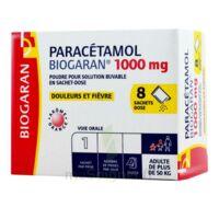 Paracetamol Biogaran 1000 Mg, Poudre Pour Solution Buvable En Sachet-dose à AURILLAC