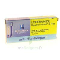 Loperamide Biogaran Conseil 2 Mg, Gélule à AURILLAC