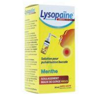LysopaÏne Ambroxol 17,86 Mg/ml Solution Pour Pulvérisation Buccale Maux De Gorge Sans Sucre Menthe Fl/20ml à AURILLAC