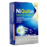 Niquitin 2 Mg Gom à Mâcher Médic Menthe Glaciale Sans Sucre Plq Pvc/pvdc/alu/30 à AURILLAC