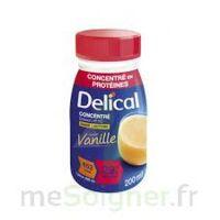 Delical Boisson Hp Hc Concentree Nutriment Vanille 4bouteilles/200ml à AURILLAC