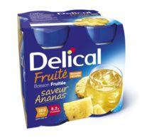 Delical Boisson Fruitee Nutriment Ananas 4bouteilles/200ml à AURILLAC