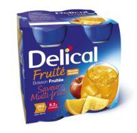 Delical Boisson Fruitee Nutriment Multi Fruits 4bouteilles/200ml à AURILLAC