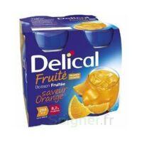 Delical Boisson Fruitee Nutriment Orange 4bouteilles/200ml à AURILLAC