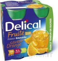 Delical Boisson Fruitee Nutriment édulcoré Orange 4bouteilles/200ml à AURILLAC