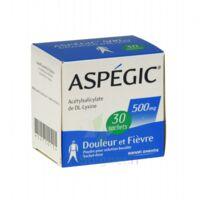 Aspegic 500 Mg, Poudre Pour Solution Buvable En Sachet-dose 30 à AURILLAC