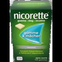 Nicorette 2 Mg Gom à Mâcher Médic Sans Sucre Menthe Fraîche Plq/105gom à AURILLAC
