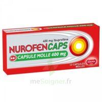 Nurofencaps 400 Mg Caps Molle Plq/10 à AURILLAC