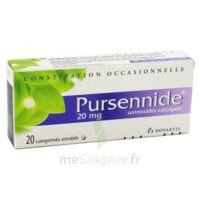 Pursennide 20 Mg, Comprimé Enrobé à AURILLAC