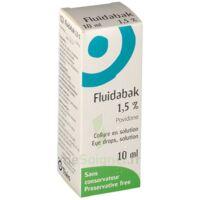 Fluidabak 1,5 %, Collyre En Solution à AURILLAC