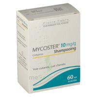 Mycoster 10 Mg/g Shampooing Fl/60ml à AURILLAC