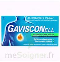 Gavisconell Coprimés à Croquer Sans Sucre Menthe édulcoré à L'aspartam Et à L'acésulfame Potas Plq/24 à AURILLAC