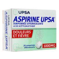 Aspirine Upsa Tamponnee Effervescente 1000 Mg, Comprimé Effervescent à AURILLAC
