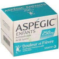 Aspegic Enfants 250, Poudre Pour Solution Buvable En Sachet-dose à AURILLAC