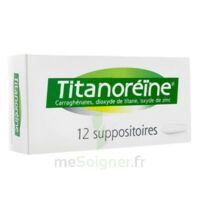Titanoreine Suppositoires B/12 à AURILLAC