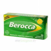 Berocca Comprimés Effervescents Sans Sucre T/30 à AURILLAC