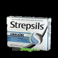 Strepsils Lidocaïne Pastilles Plq/24 à AURILLAC