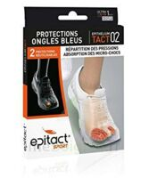 Epitact Sport Protections Ongles Bleus Epitheliumtact 02, Médium à AURILLAC